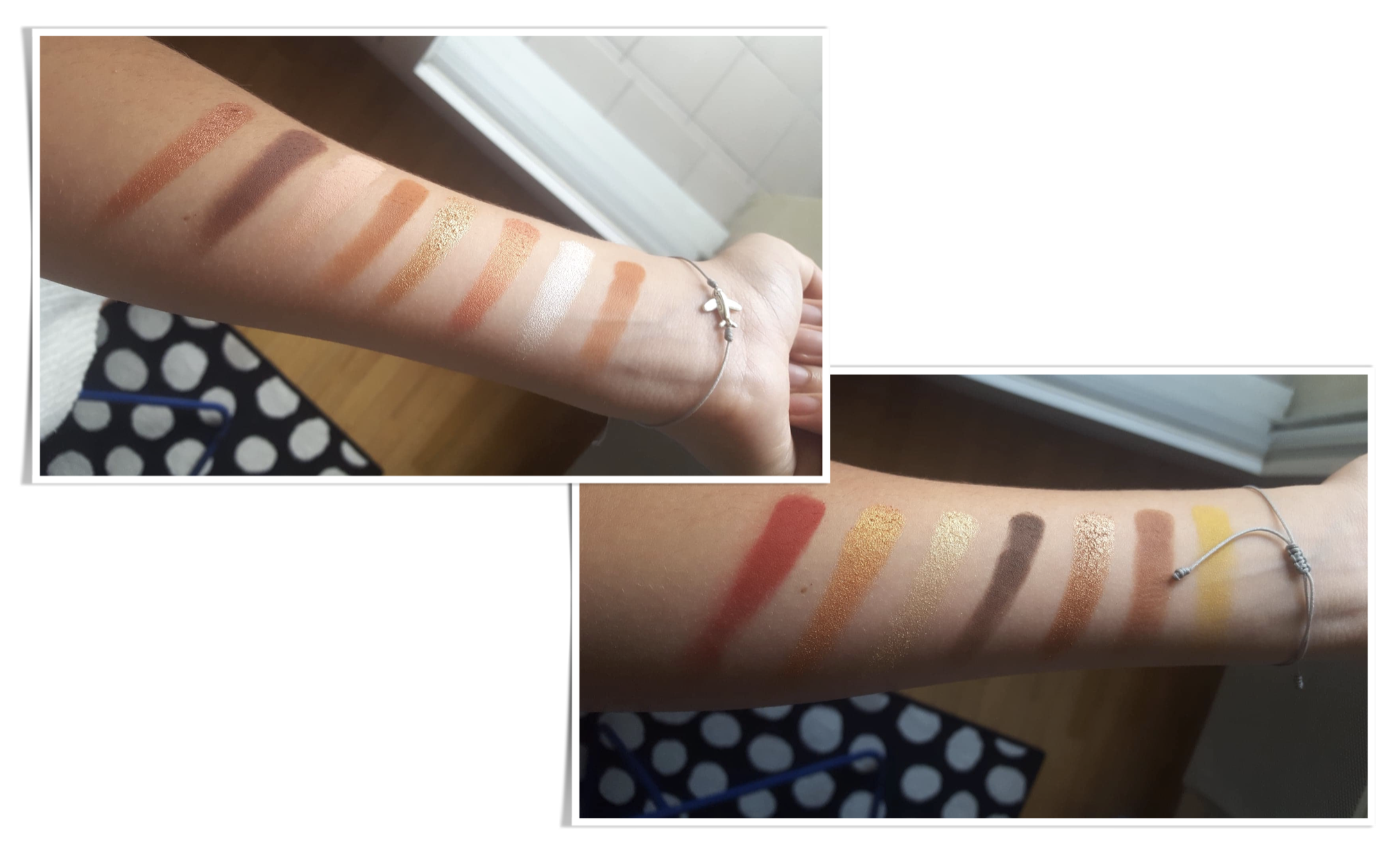 Sunset Palette Natasha Denona swatches