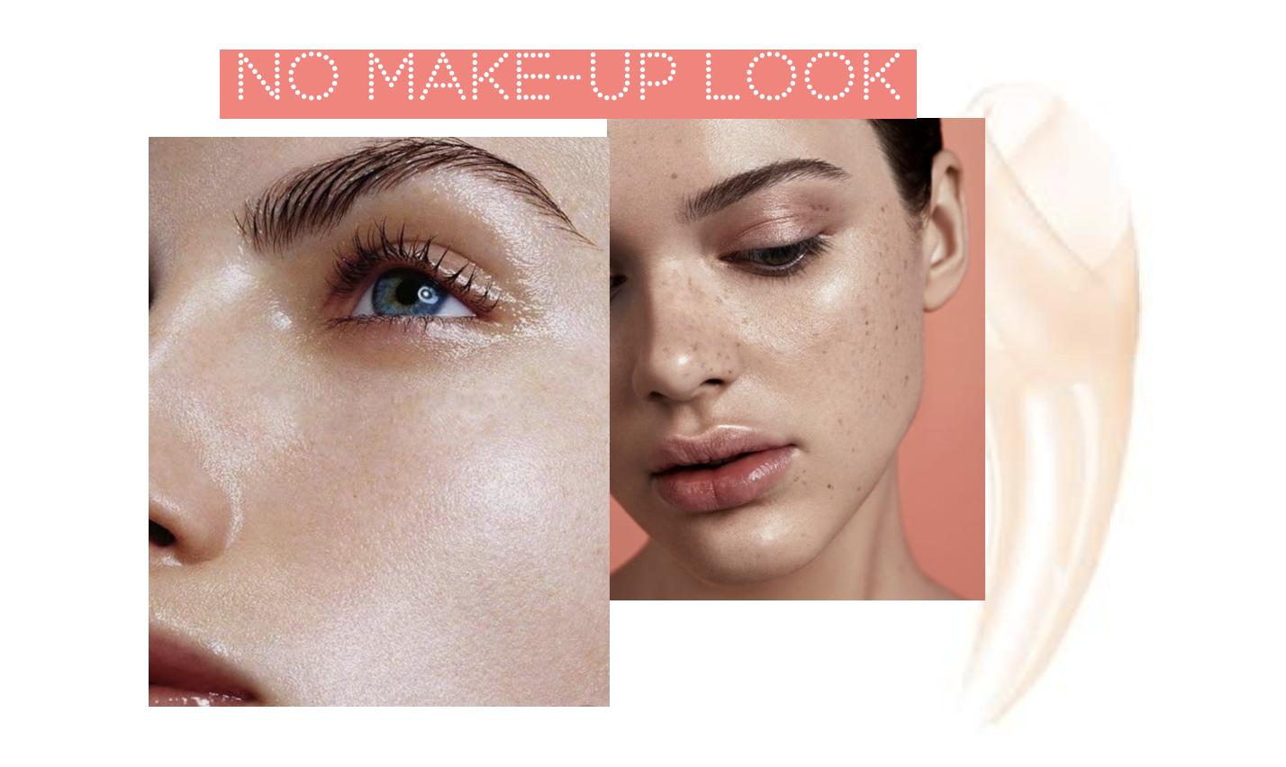 tendance maquillage no make-up