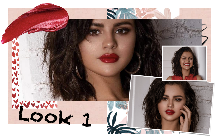 inspiration maquillage Selena Gomez