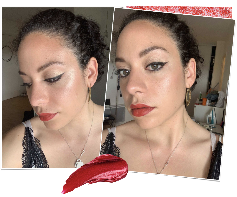 porter du rouge à lèvres rouge