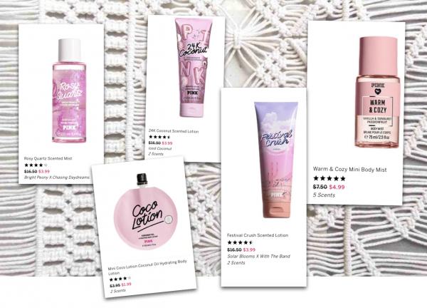 Sélection Victoria's Secret beauté en ligne