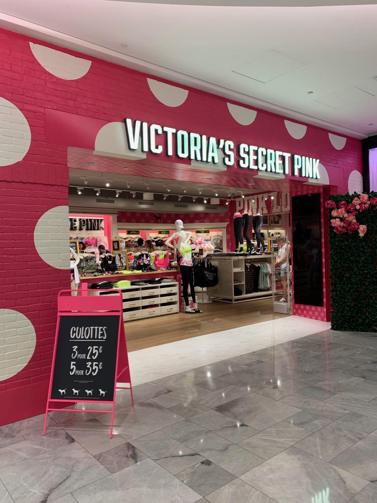 Magasin Victoria's Secret Pink à Paris