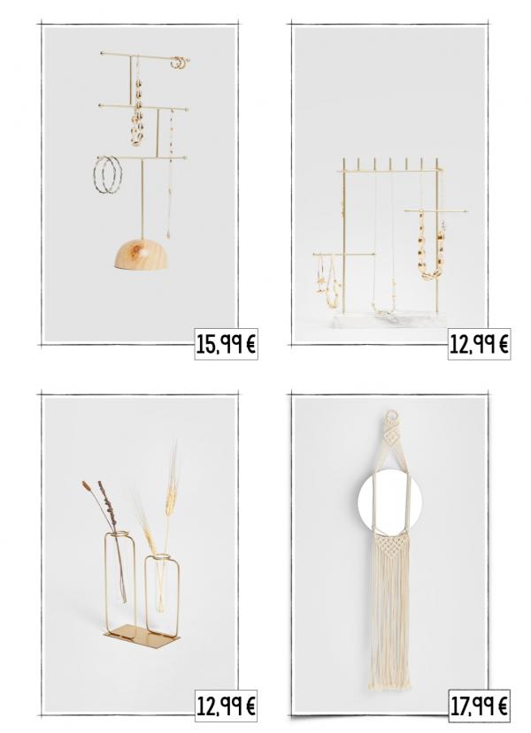 Décoration accessoires stradivarius automne