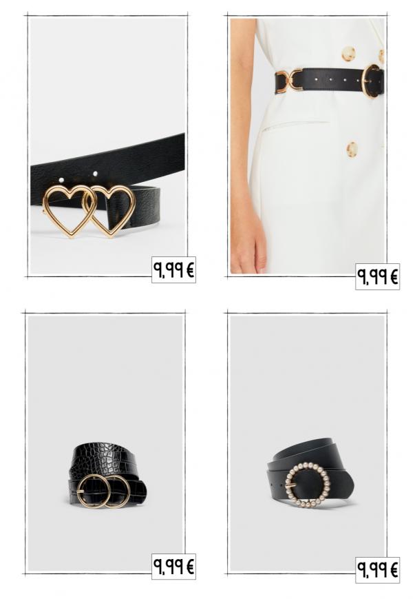 ceintures accessoires stradivarius automne