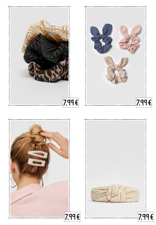 accessoires cheveux stradivarius automne